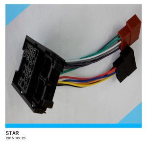 Iso Wiring Harness di Auto Adapter Car BMW Stereo 17pin di alta qualità