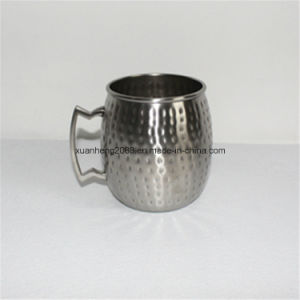 ハンドルが付いているステンレス鋼のコーヒーカップビールコップ