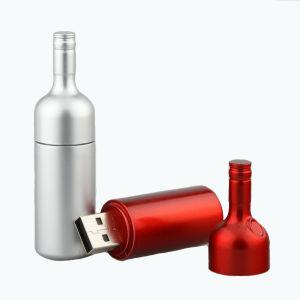 金属のびんUSBのフラッシュ、びんの形USBのフラッシュ駆動機構