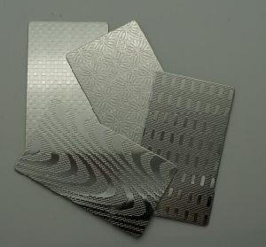 Wall Panel Decorativeのための201 304卸売Price Embossed Finished Stainless Steel Sheet