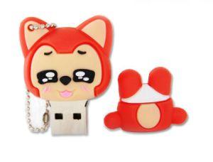 Новые продукты Али резиновые случае USB / USB флэш-накопитель / Мягкий ПВХ крышку USB (CMT-ES17)