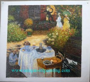 De populaire Reproductie van het Olieverfschilderij Monet