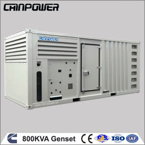 800kVA 640kw Cummins Water Cooled Silent Generator Diesel