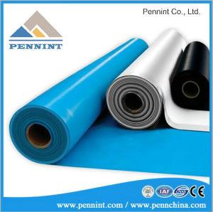 Materiaal van het Dakwerk van het Membraan van pvc van Polyvinyl Chloride het Plastic Waterdicht makende