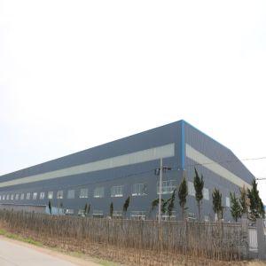 Stahlkonstruktion-Aufbau-Lager-Gebäude