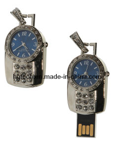 壊中時計の形USBのペン駆動機構(HG-031)