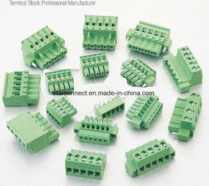 5.0mmのPCBのための5.08mmプラグイン可能なねじ込み端子のブロックのコネクター