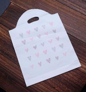 Ustom imprimé un sac de shopping avec poignée Die-Cut