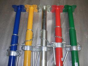Material de acero Adkustable apuntalamientos Prop para la construcción de uso
