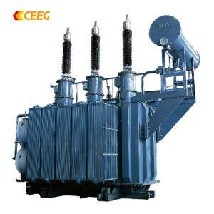 110kv 121kv 132kv Oil-Immersed Transformador de alimentación de alta tensión