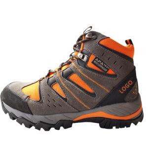 Fashion cuir imperméable Womens chaussure de sport pour la randonnée pédestre