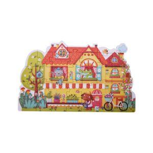 Quatre chambre puzzle Cadeaux pour les fêtes