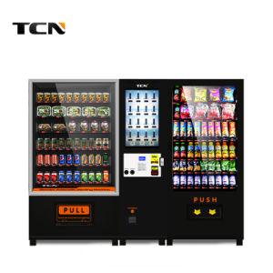 Tela de toque máquina de venda de bebidas frias