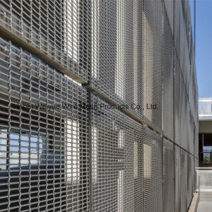 Maglia architettonica tessuta rivestimento dell'acciaio inossidabile del tessuto del collegare