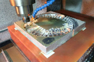 Aço inoxidável/alumínio/ componentes metálicos de latão de dissimular a usinagem CNC de precisão