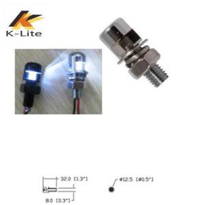 Alto brillo LED de 24 V La luz de matrícula para motocicleta (LM-401)