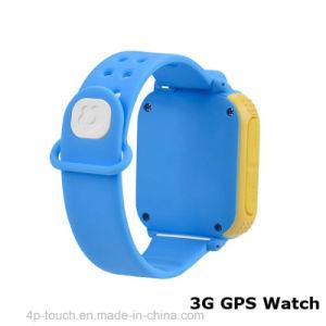 回転を用いる3G WiFi GPSの腕時計の追跡者3.0mのカメラ(D18)の