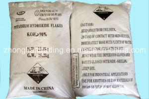 Het Hydroxyde van het kalium schilfert Industriële Rang voor de Markten van Afrika af