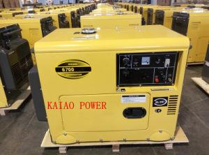 5kVA stille Diesel van het Type Draagbare Generator KDE6500T