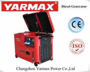 Cilindro Único Yarmax gerador diesel tipo silenciosa económica 3KW 5 kw 6 kw