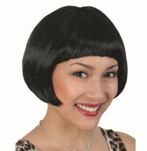 Mesdames Santa Fashion partie perruque, perruque de fibres synthétiques