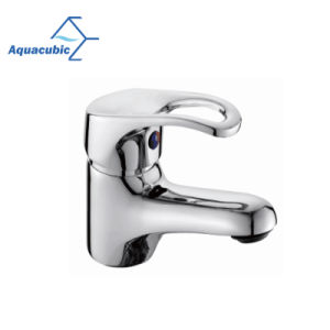 Salle de bains en laiton robinet du bassin avec des plaques cueilleuses (AF1702-6)