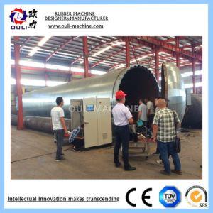 Сотрудников категории специалистов на заводе Vulcanizing питания бака для резиновой трубки, Рулон или обувь
