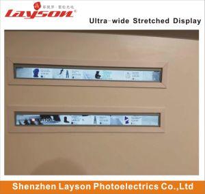 Ecran TFT 39 ultra large barre étirée étirée lecteur HD LCD, écran LCD Ad affichage publicitaire