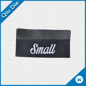 Centro de Mini pliega etiqueta tejida etiqueta para productos de pequeños animales