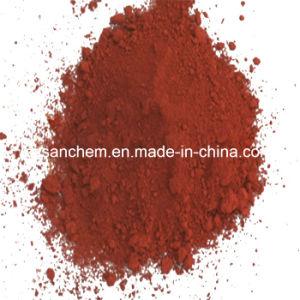 Oxyde 130 van het Ijzer van het Pigment van de Verf van de Levering van de fabriek Rood met Concurrerende Prijs