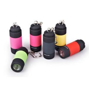 ABS 1LED昇進の小型懐中電燈Keychain