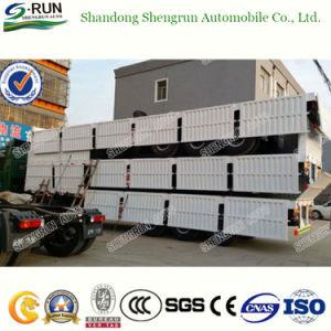 Utilitário Shengrun Baixa de cisne da parede lateral do leito semi reboque do veículo