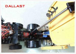 ダンプトラックのために単動望遠鏡の小さい水圧シリンダ