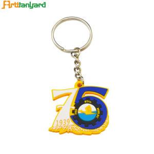 3D 로고 PVC Keychain를 주문 설계하십시오