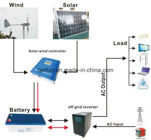 10kw hors réseau système d'alimentation hybride du vent solaire