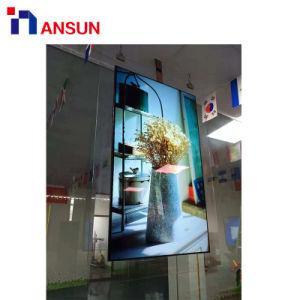 55  전시 광고를 위한 천장 유형 이중 면 OLED 스크린