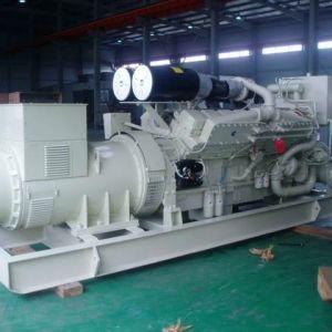 800kVA 640kw Cummins 디젤 엔진 발전기 세트 880kVA Kta38-G2b
