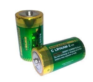 1.5V 망간 C 크기는 Lr14 알카리 전지 원격 제어 전기 건전지 에어 컨디셔너 이다 2