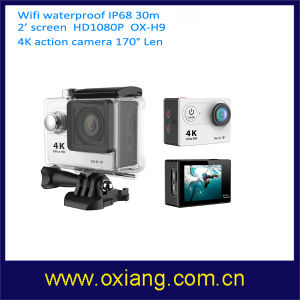 WiFi impermeabile 60fps 120fps Mini 4k Action Camera
