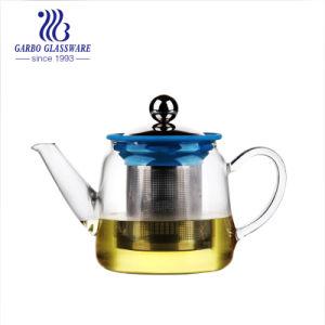 600ml de hoge Pot van de Thee van het Glas Borosilicate met Hittebestendige Infuser (gb550430600-Th)