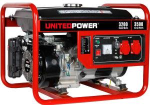 Portátil pequeña monofásico de generador de gasolina con United Power Gg4000A-50