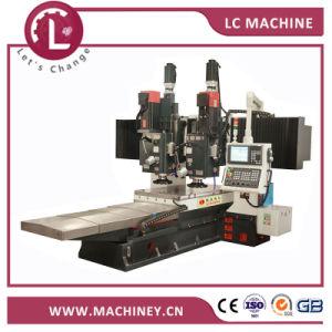 LC massa-8015Gantry Cabeça fresadora Twin CNC