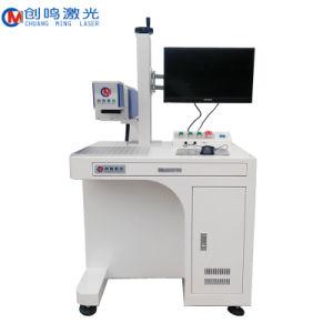 China Fabricação 20W 30W 60W máquina de marcação a laser de CO2 Frasco de vidro de couro máquina de marcação a laser de madeira