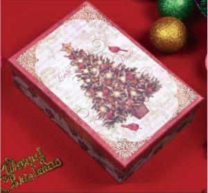 Caixa de presentes de Natal Grande Retangular/Natal Boneco de caixa de presentes de Natal/Caixa de presentes de Natal