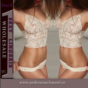 Mujeres sexy ropa interior Panty Bra Set lencería (TFQQ0936)