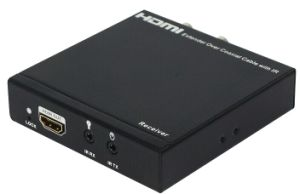 IR Controlの100m Over Single Coaxial Cable HDMI Extender