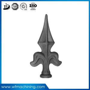 投げられたプロセスのOEMの錬鉄またはステンレス鋼または金属の鋳造の先峰