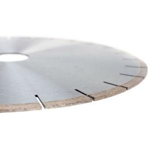Diamond lame de scie circulaire pour Pierre - diamant segmentées de coupe des outils de coupe pour le traitement de marbre et granit