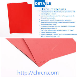 Отсутствие короткого замыкания высокого качества бумаги Vulcanized волокна бумаги