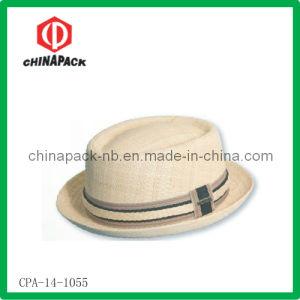 Fashion Skimmer Boater Straw Hat (CPA-14-1055)